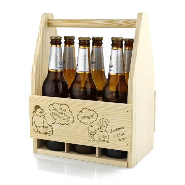 skrzynka na 6 piw