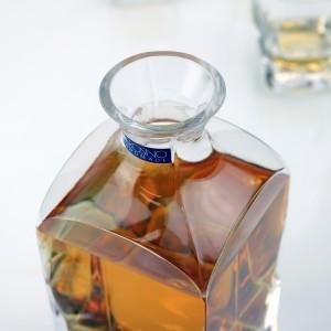 szklana karafka na prezent