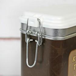 puszka na kawę z nadrukiem