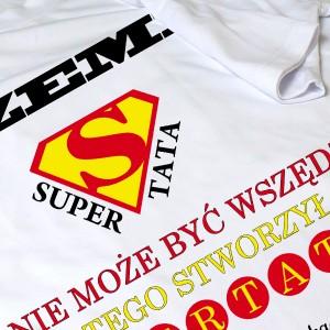 personalizowana koszulka na dzień ojca