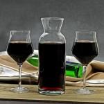 personalizowany zestaw do wina - karafka z kieliszkami