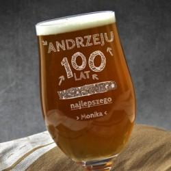 personalizowany pokal do piwa