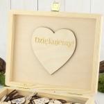 drewniana szkatułka księga gości na ślub
