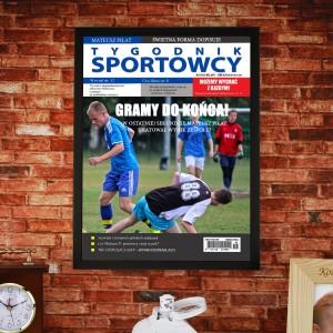 okładka magazynu sportowego