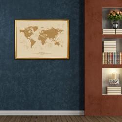 podział administracyjny świata w ramie