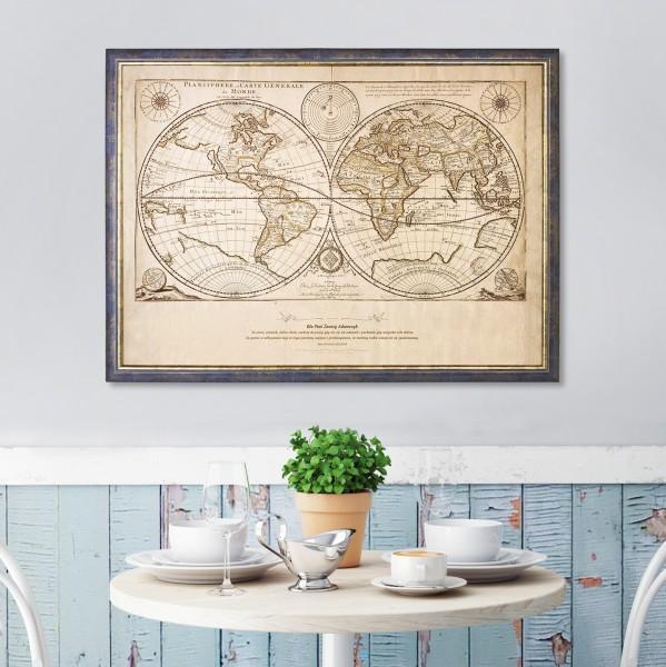 mapa świata dla nauczyciela