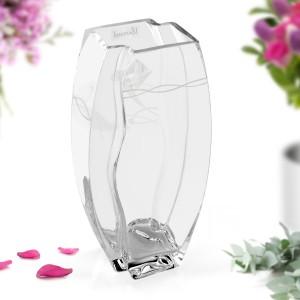ekskluzywny wazon z kryształem Swarovskiego na prezent dla niej