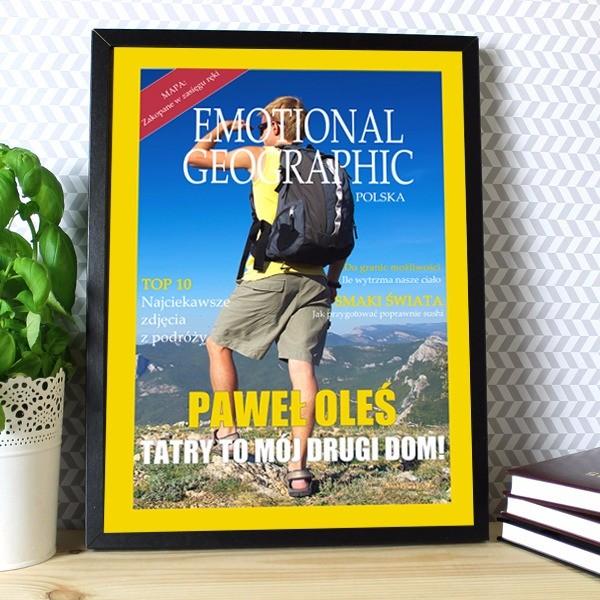 okładka magazynu z twoim zdjęciem