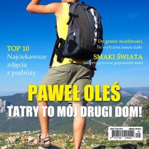 okładka magazynu ze zdjęciem