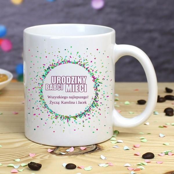 kubek dla babci z okazji urodzin