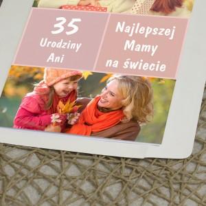 kartka urodzinowa ze zdjęciami