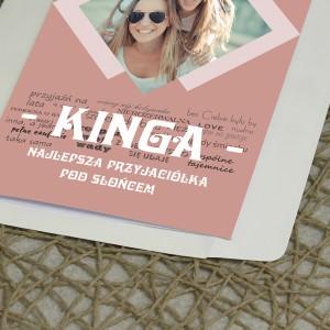 kartka ze zdjęciem