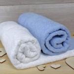 ręczniki z haftem dla pary