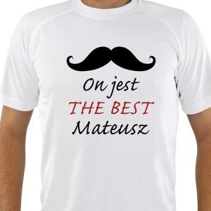 koszulka z nadrukiem na prezent dla niego