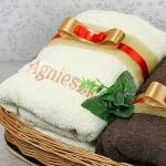 haftowany ręcznik z dowolnym imieniem