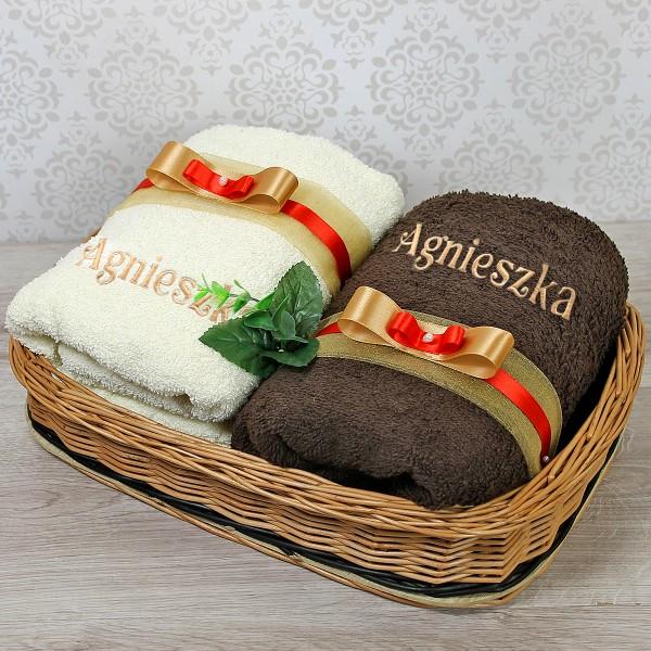 zestaw ręczników na prezent dla niej