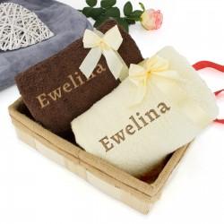 ręczniki z haftem na zamówienie