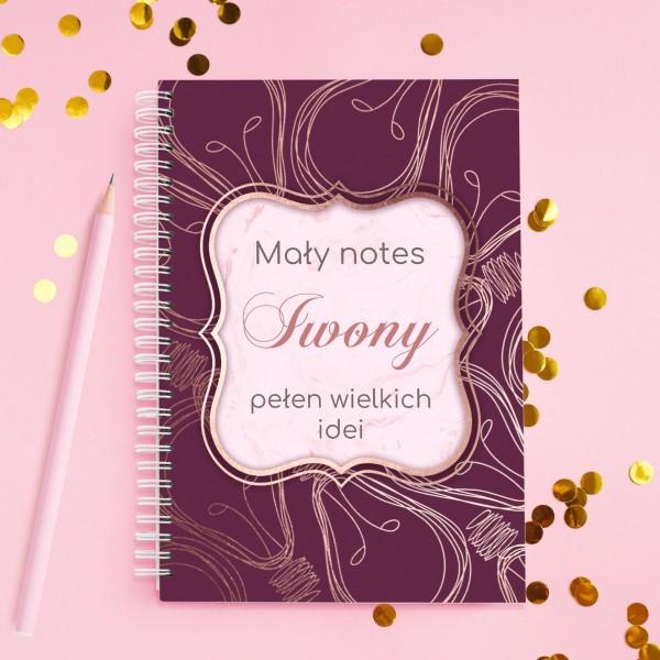 personalizowany notes na wyjątkowy prezent
