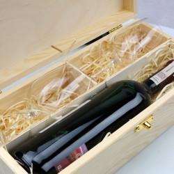skrzynka na butelkę wina