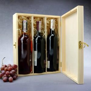 skrzynka na trzy wina