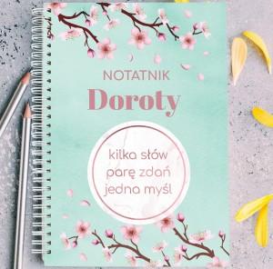 notatnik na prezent dla ukochanej