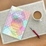 notatnik z własną okładką dla dziewczyny