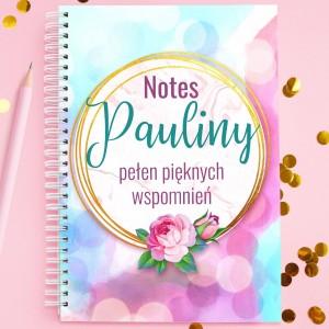 notes z dedykacją na prezent dla dziewczyny wspomnienia