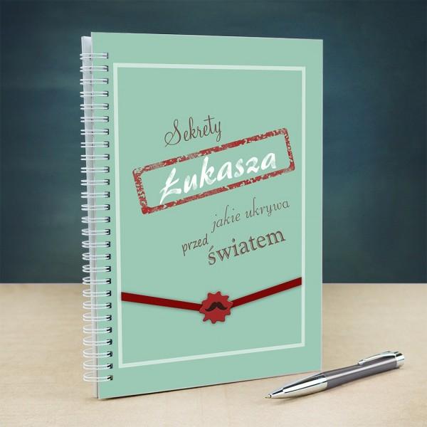 notatnik personalizowany dla chłopaka
