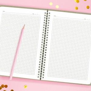 notes z własnym nadrukiem na prezent dla przyjaciółki