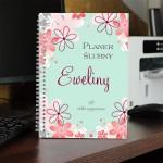 personalizowany notatnik dla kobiety