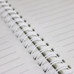 notes spiralowany
