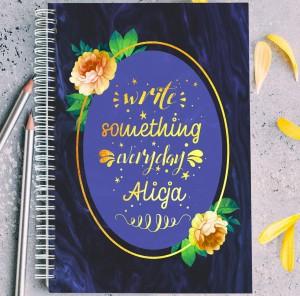 notatnik z nadrukiem na prezent dla szwagierki