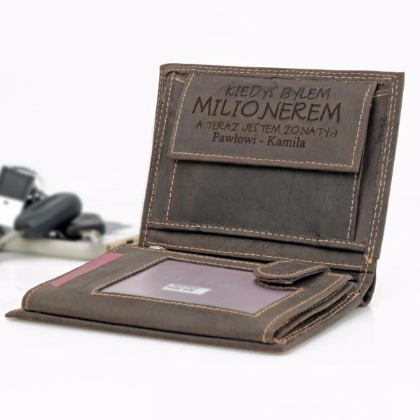 spersonalizowany portfel męski
