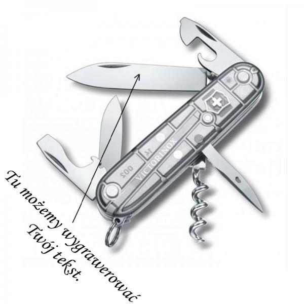Scyzoryk Victorinox Spartan Silver Tech