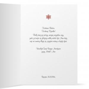 kartka z personalizacją I życzeniami dla dziadka i babci na boże narodzenie