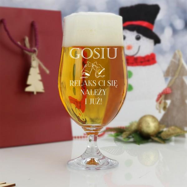 personalizowany pokal na piwo