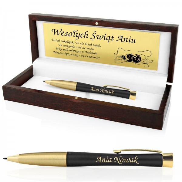 świąteczny prezent dla niej długopis Parker z grawerem