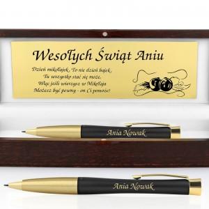 prezent pod choinkę dla kobiety długopis Parker Urban Muted Black GT z grawerem