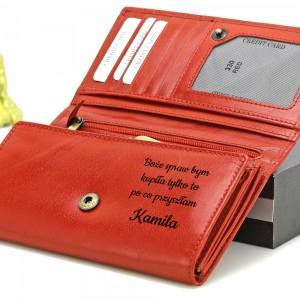 personalizowany portfel na prezent na gwiazdkę
