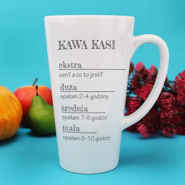 kubek latte z personalizacją