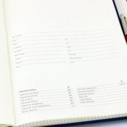 notes a4 z personalizacją + długopis parker
