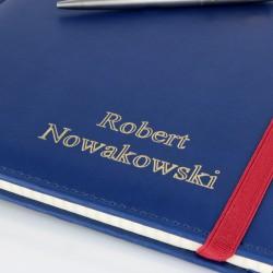 notes a4 + grawer - z długopisem parker