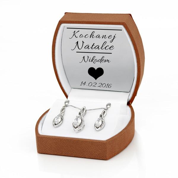 personalizowana biżuteria damska z grawerem