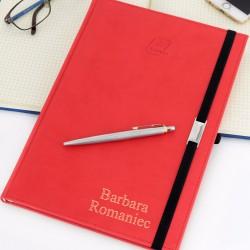 spersonalizowany notes vivella z długopisem parker