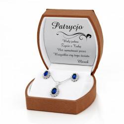 komplet srebrnej biżuterii na prezent dla niej