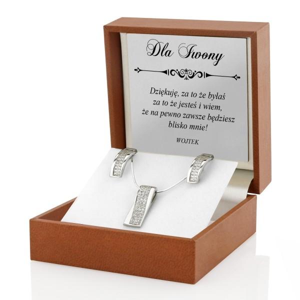 srebrna biżuteria na prezent dla niej