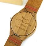 grawerowany zegarek męski
