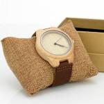 bambusowy zegarek z personalizacją