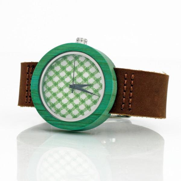 zegarek bambusowy z indywidualnym grawerem