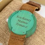 grawerowany zegarek dla mamy